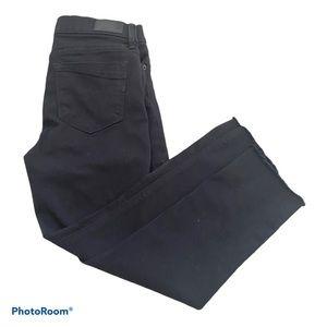 Express Black Raw Stretch Legging Mid Rise Jean 4P